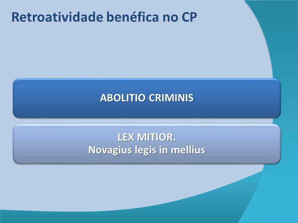 LEX MITIOR. Novagius legis in mellius