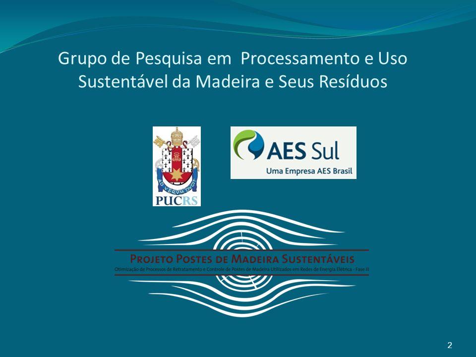 Grupo de Pesquisa em Processamento e Uso Sustentável da Madeira e Seus Resíduos