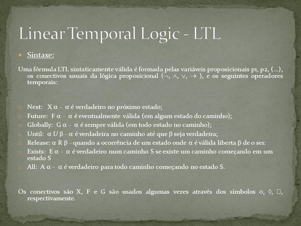 Linear Temporal Logic - LTL