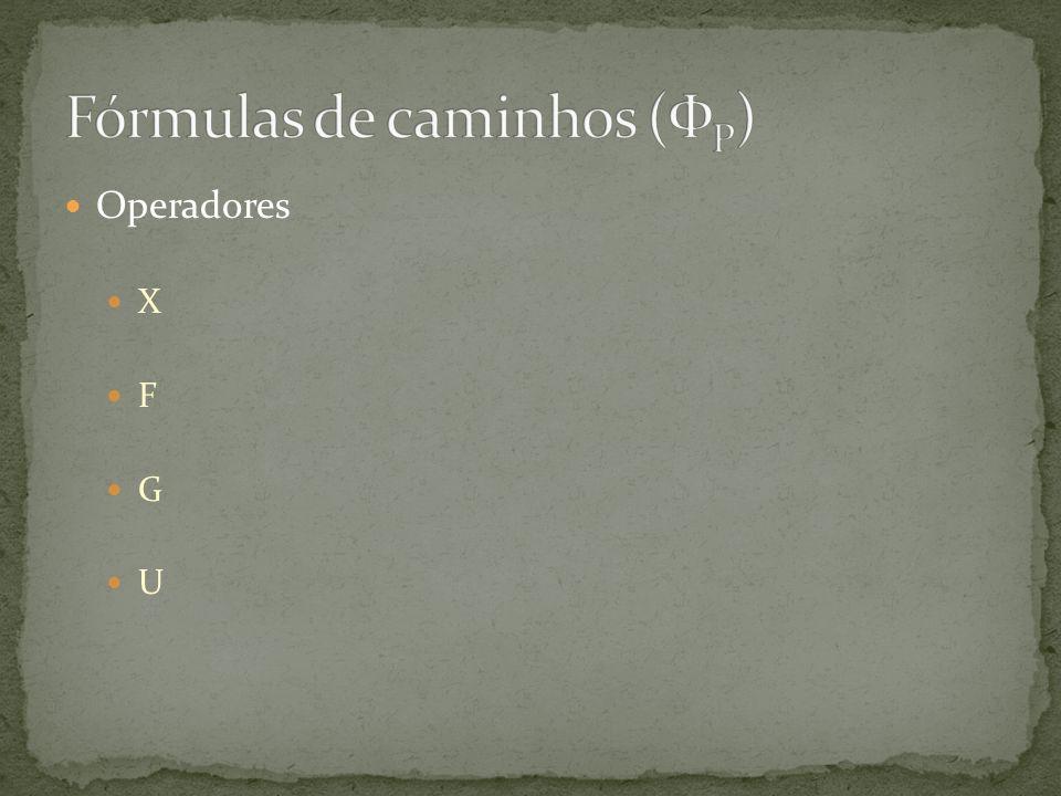 Fórmulas de caminhos (ФP)