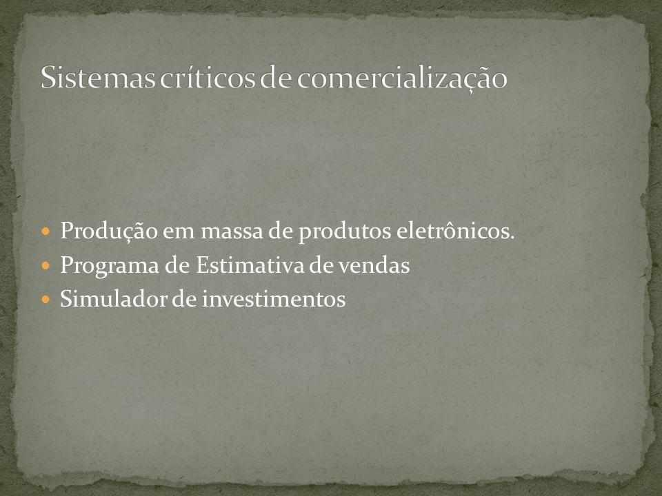 Sistemas críticos de comercialização