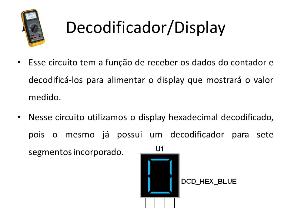 Decodificador/Display