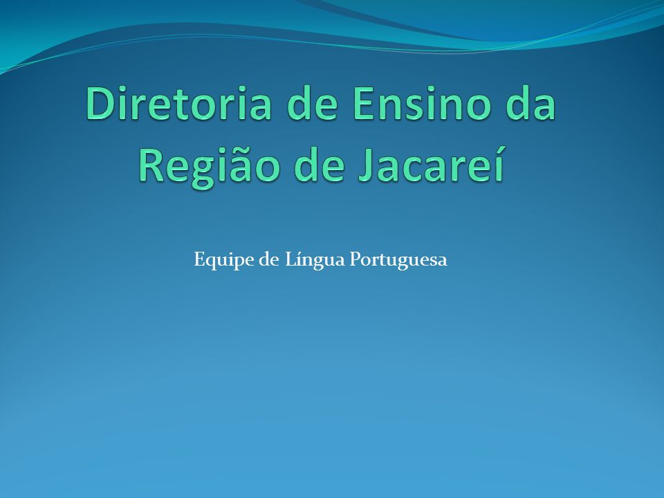 Diretoria de Ensino da Região de Jacareí