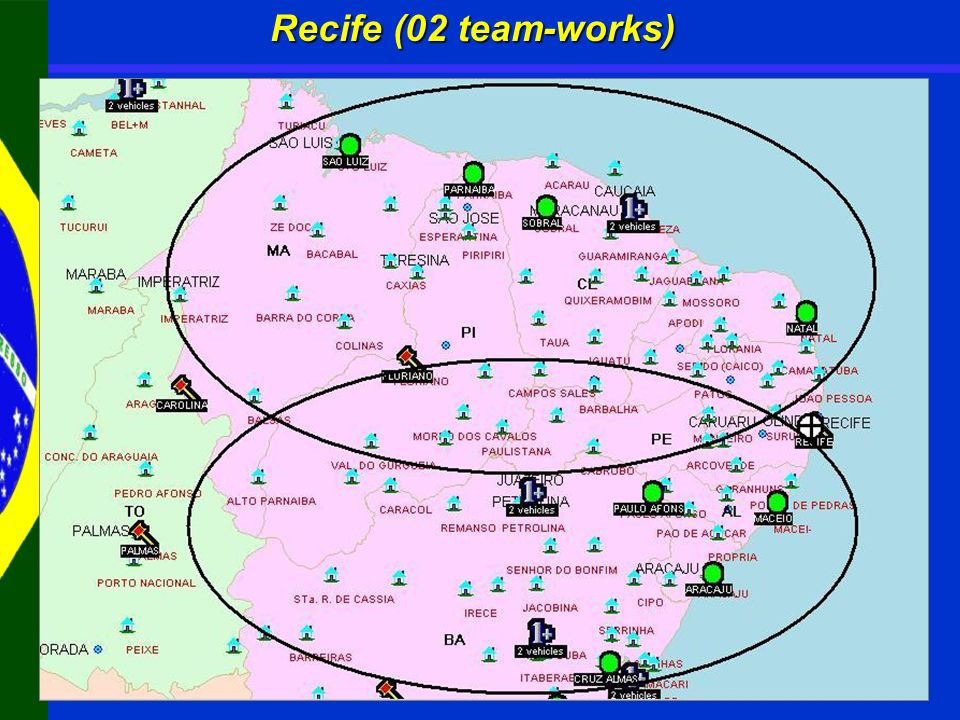 Recife (02 team-works)
