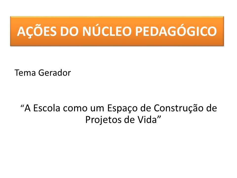 AÇÕES DO NÚCLEO PEDAGÓGICO