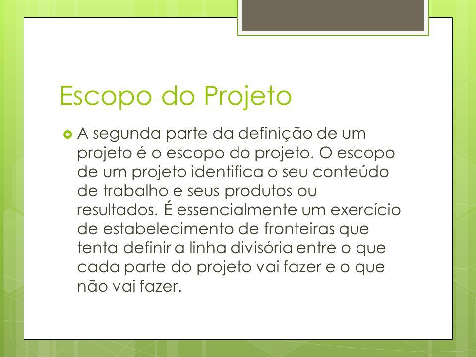 Escopo do Projeto