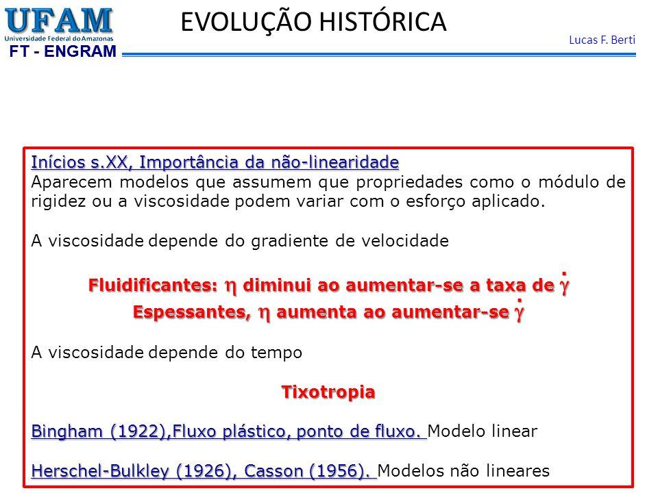 EVOLUÇÃO HISTÓRICA . . Inícios s.XX, Importância da não-linearidade