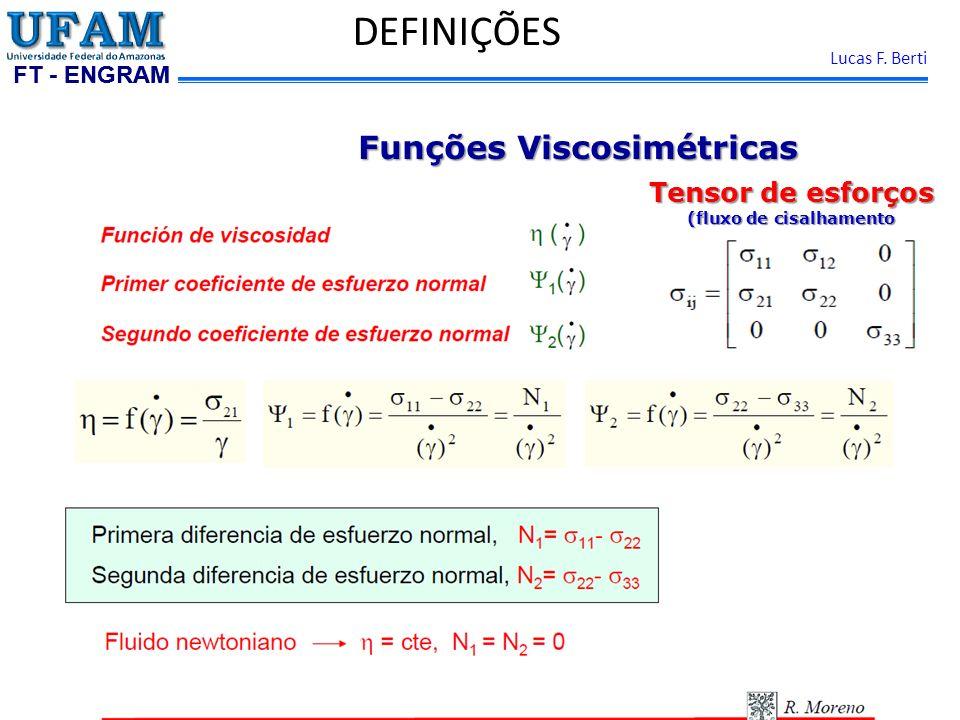 Funções Viscosimétricas