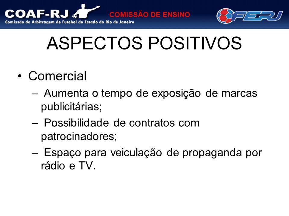 ASPECTOS POSITIVOS Comercial