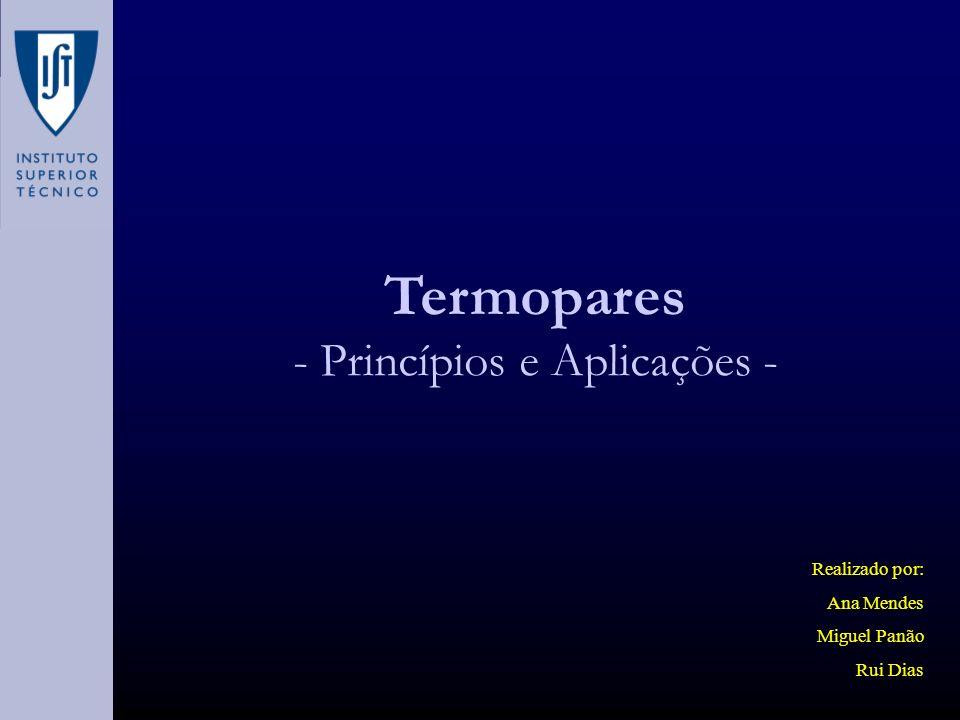 - Princípios e Aplicações -