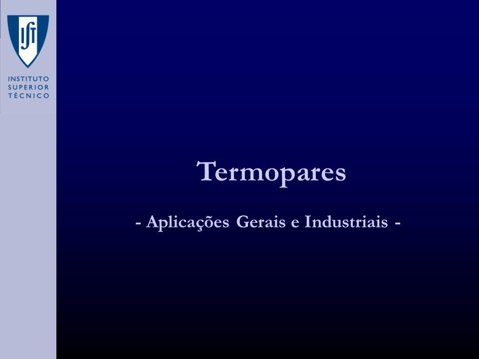 - Aplicações Gerais e Industriais -