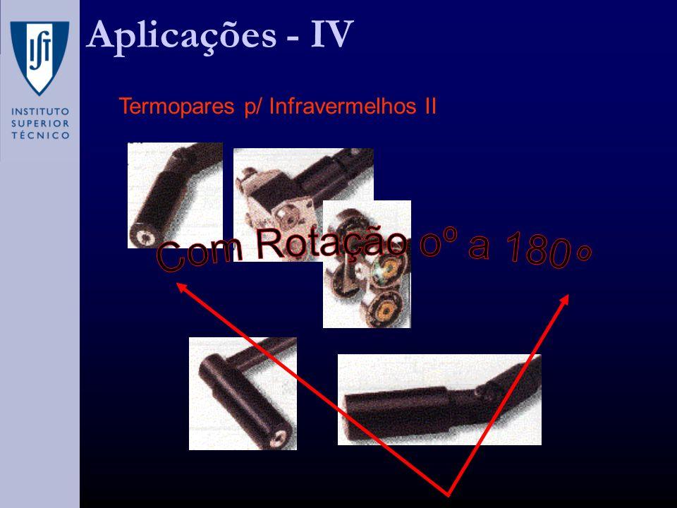 Aplicações - IV Termopares p/ Infravermelhos II Com Rotação oº a 180º