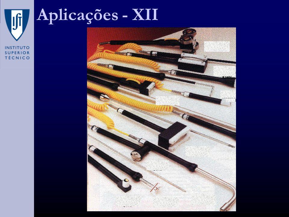 Aplicações - XII