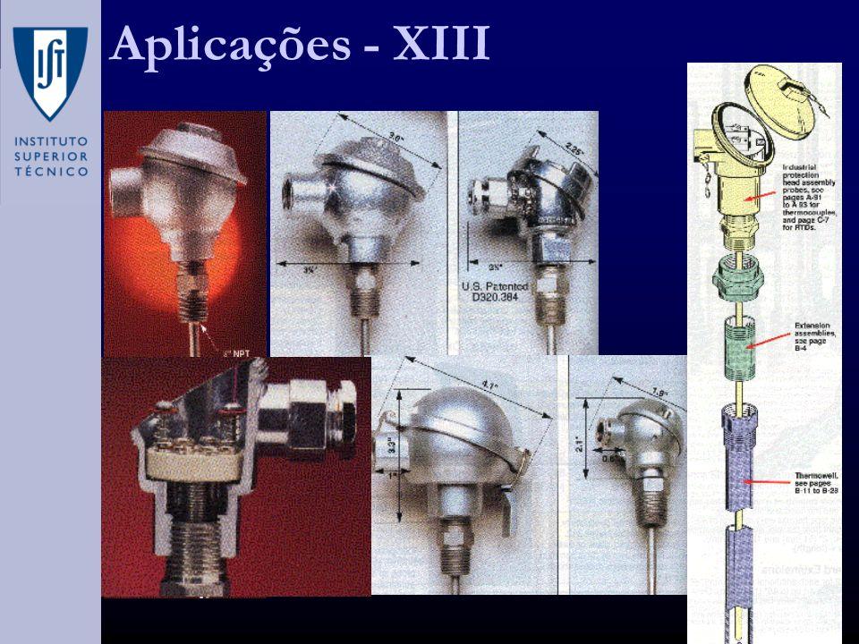 Aplicações - XIII