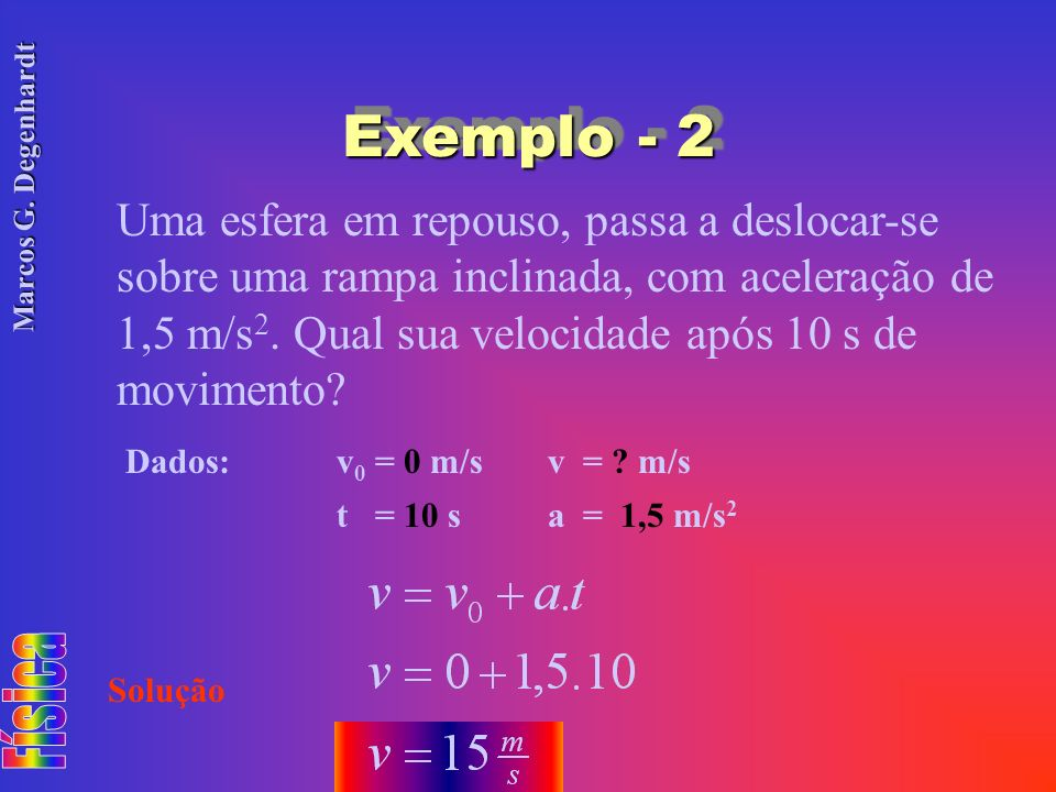 Exemplo - 2