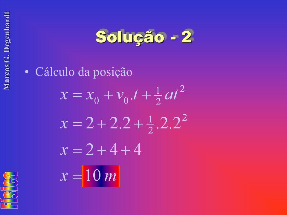 Solução - 2 Cálculo da posição