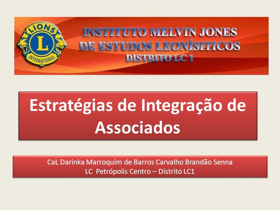 Estratégias de Integração de Associados