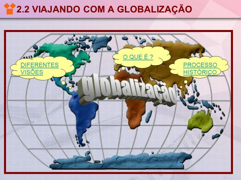 2.2 VIAJANDO COM A GLOBALIZAÇÃO