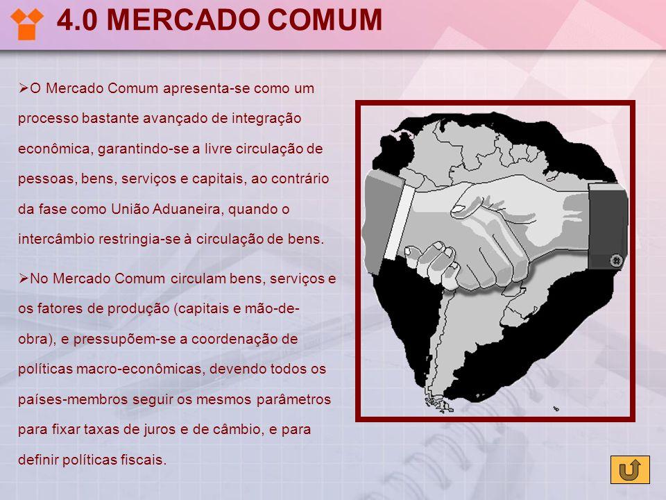 4.0 MERCADO COMUM