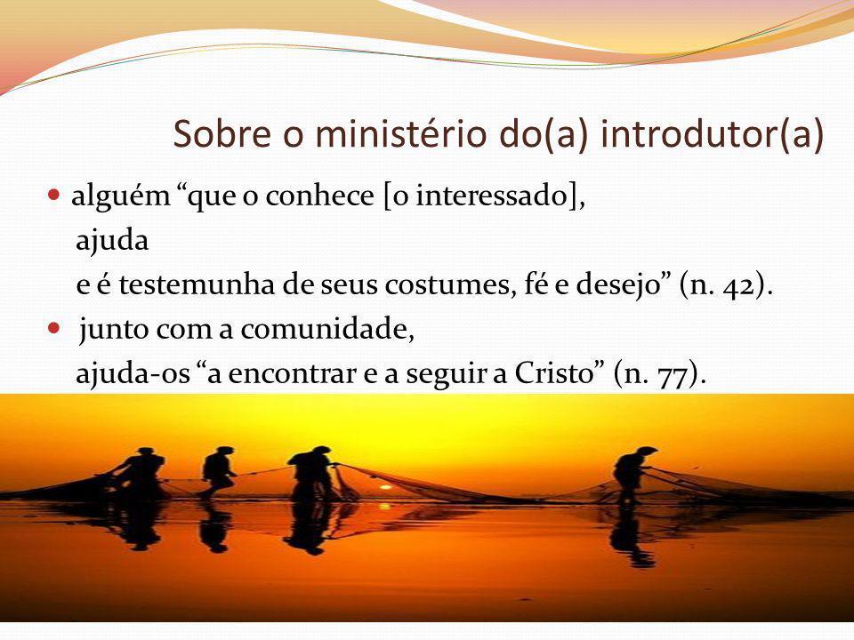 Sobre o ministério do(a) introdutor(a)