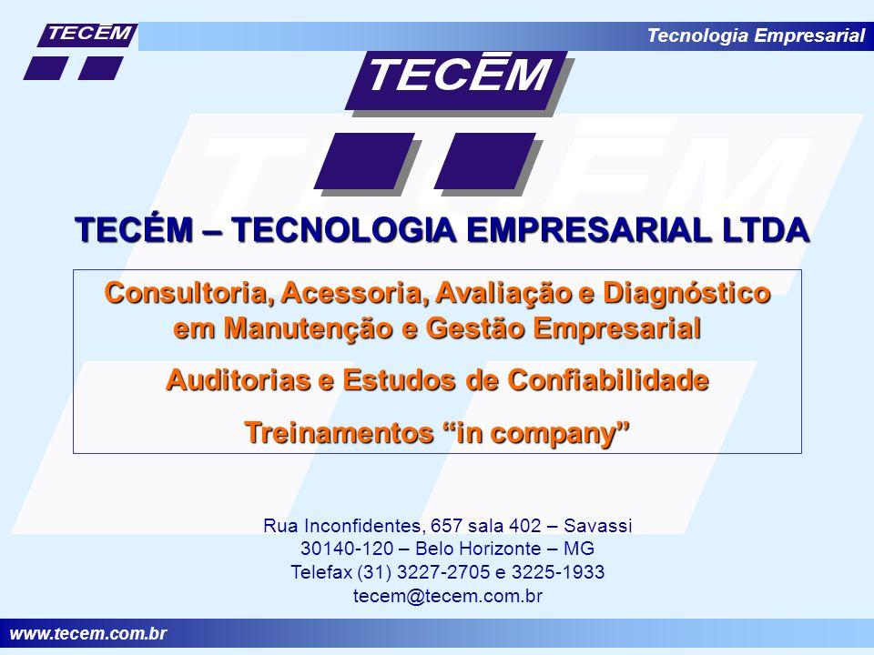 Auditorias e Estudos de Confiabilidade Treinamentos in company