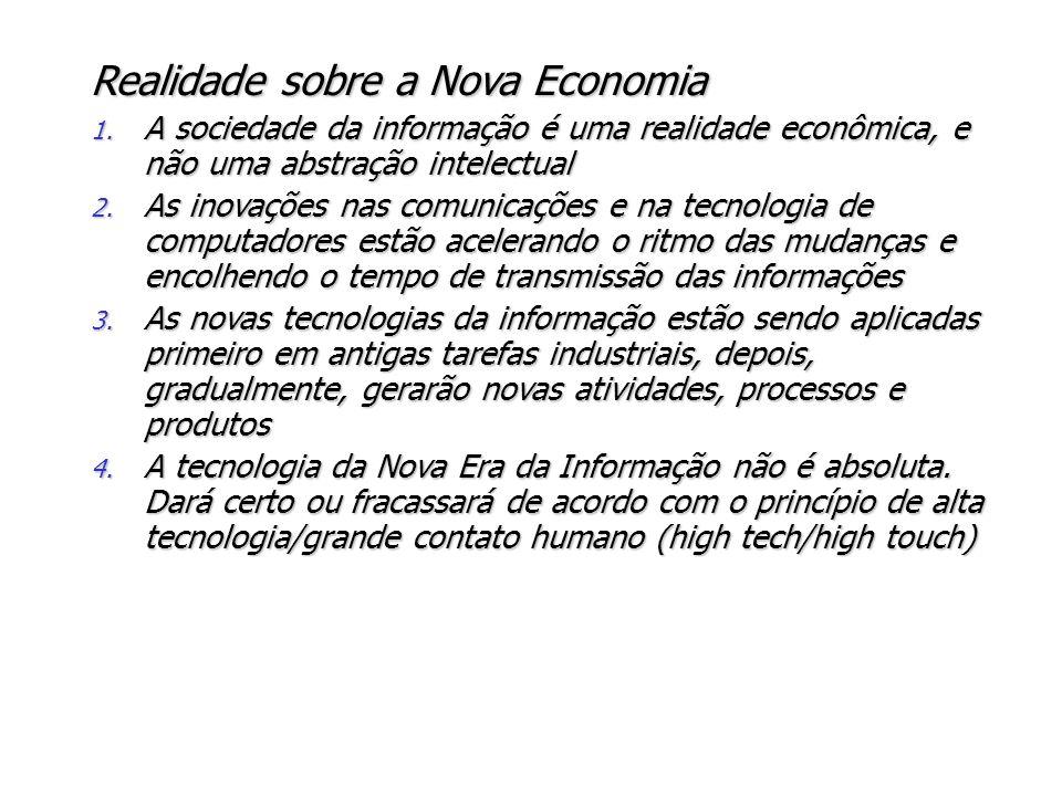 Realidade sobre a Nova Economia