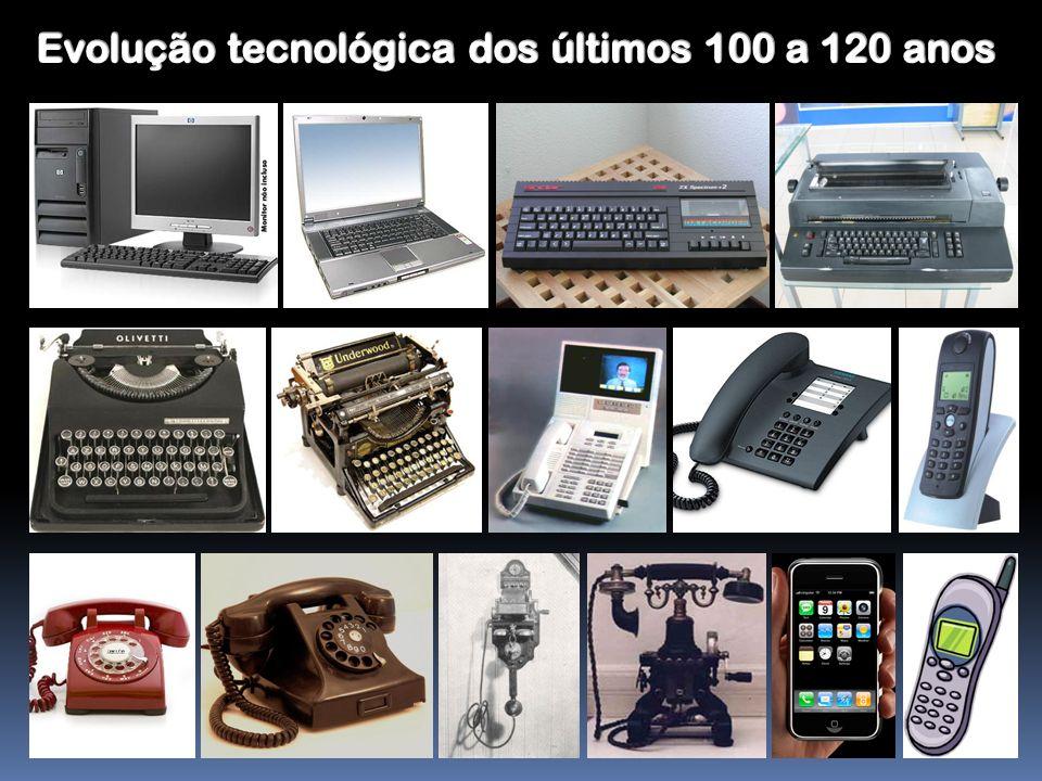 Evolução tecnológica dos últimos 100 a 120 anos