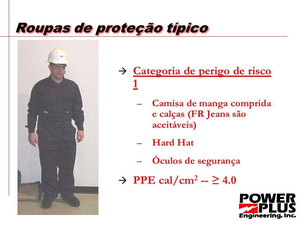 Roupas de proteção típico