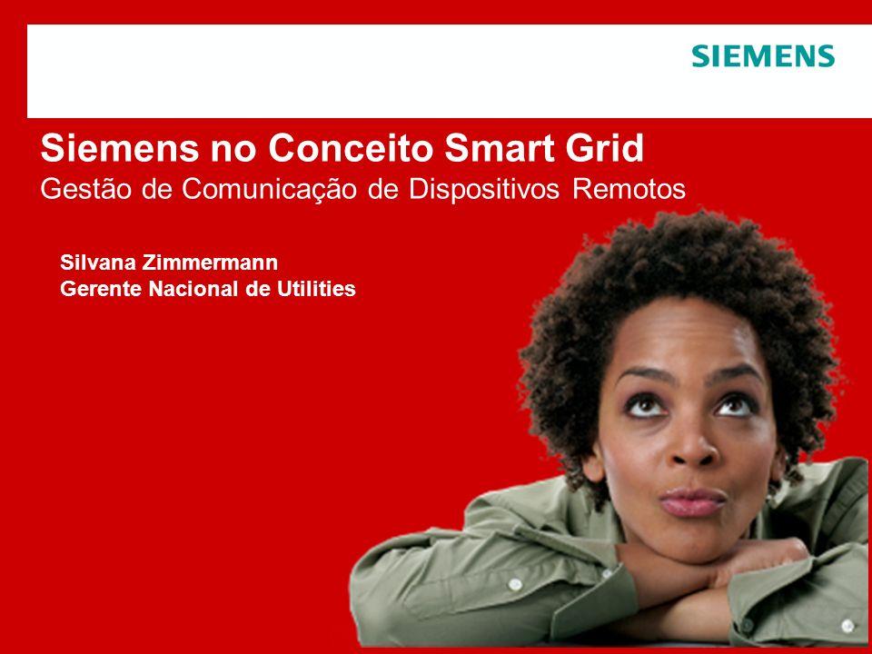 Siemens no Conceito Smart Grid Gestão de Comunicação de Dispositivos Remotos