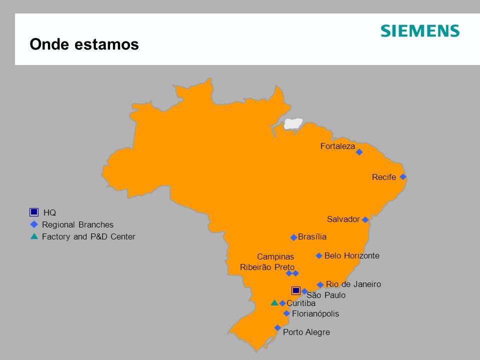 Onde estamos Fortaleza Recife HQ Salvador Regional Branches
