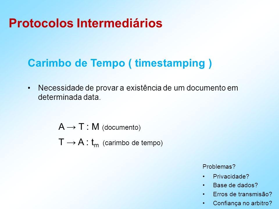 Carimbo de Tempo ( timestamping )