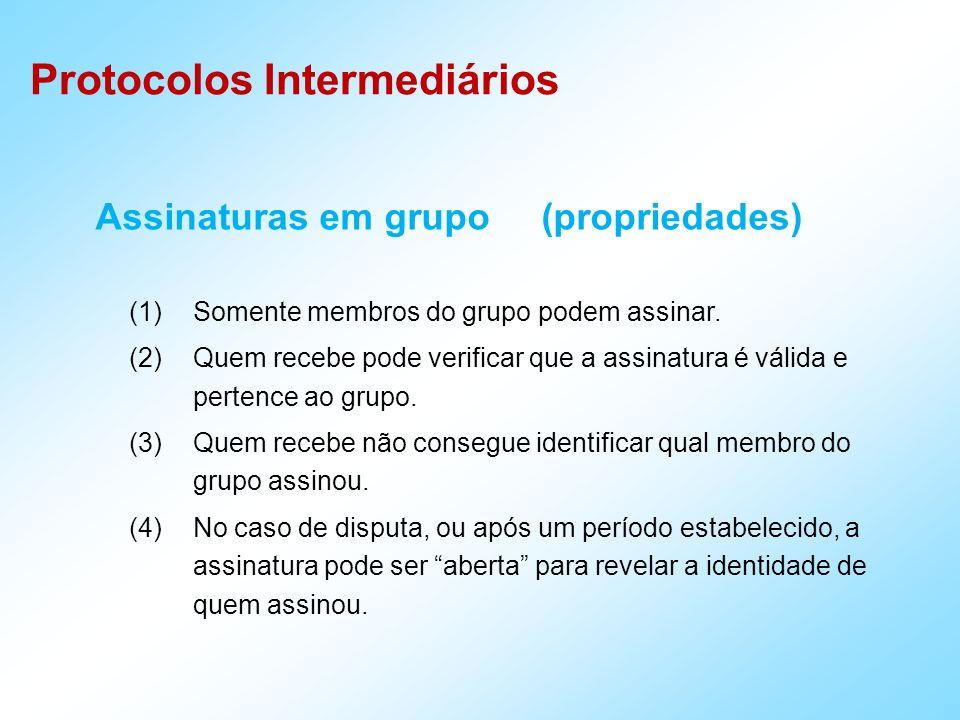 Assinaturas em grupo (propriedades)