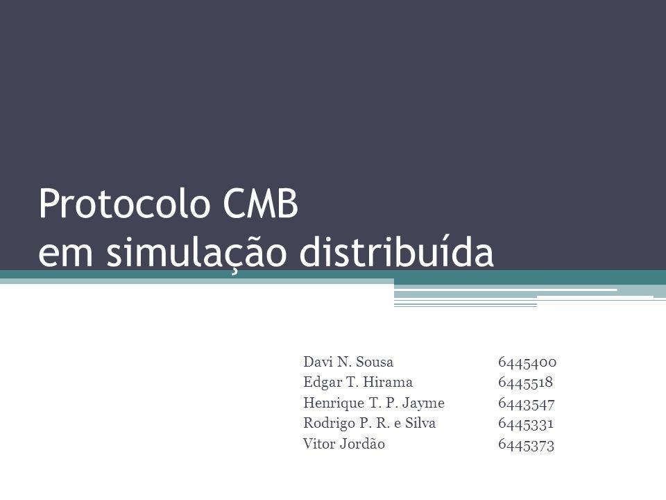 Protocolo CMB em simulação distribuída