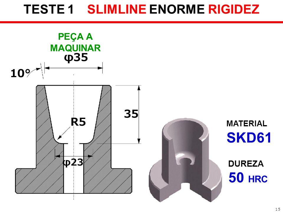 TESTE 1 SLIMLINE ENORME RIGIDEZ