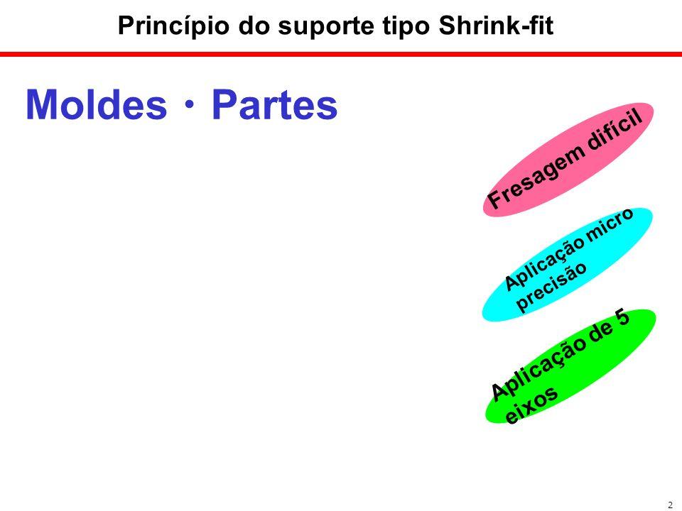 Princípio do suporte tipo Shrink-fit