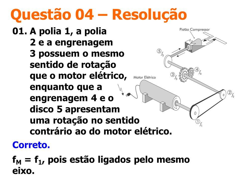 Questão 04 – Resolução
