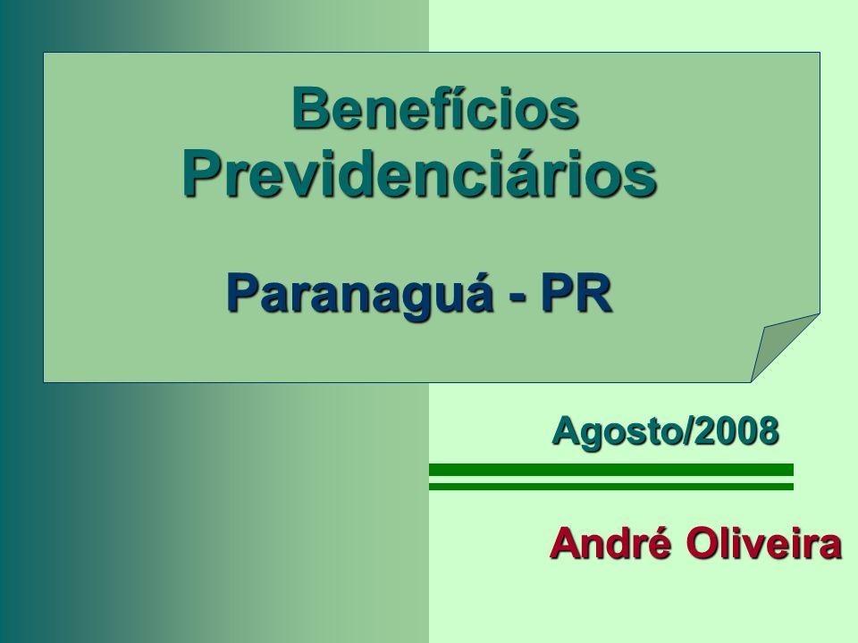 Benefícios Previdenciários Paranaguá - PR