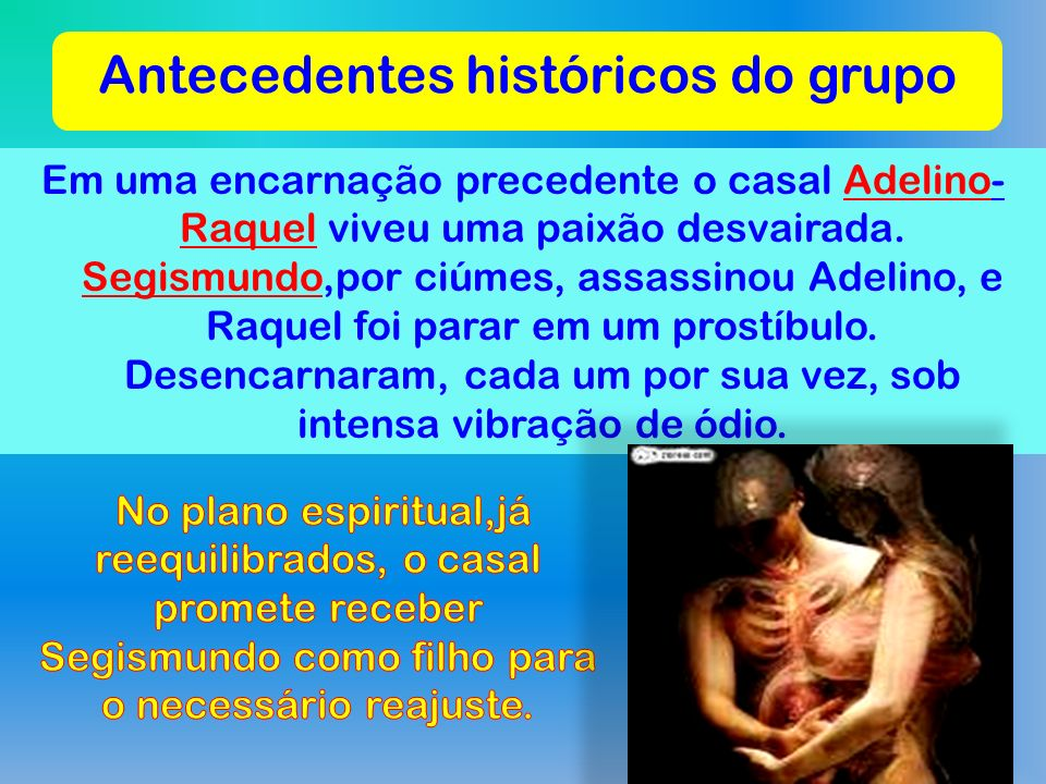 Antecedentes históricos do grupo