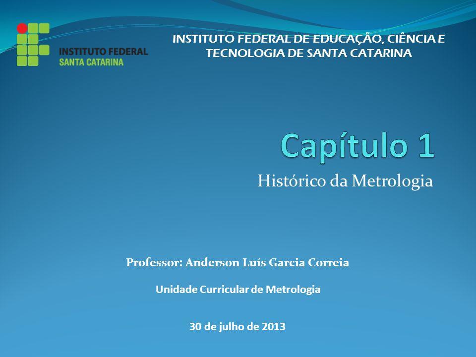 Histórico da Metrologia