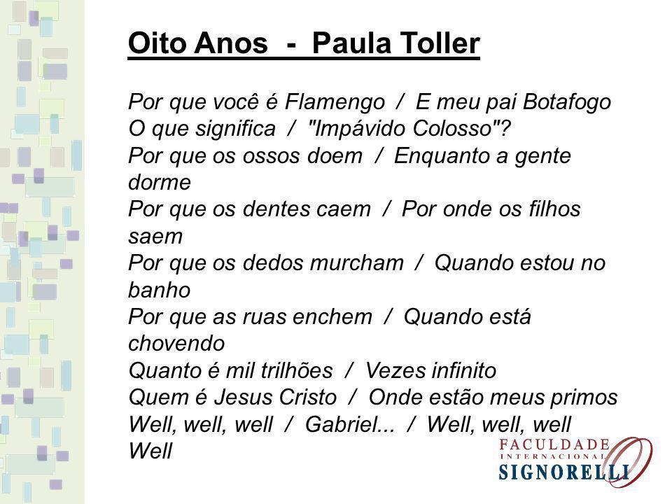 Oito Anos - Paula Toller