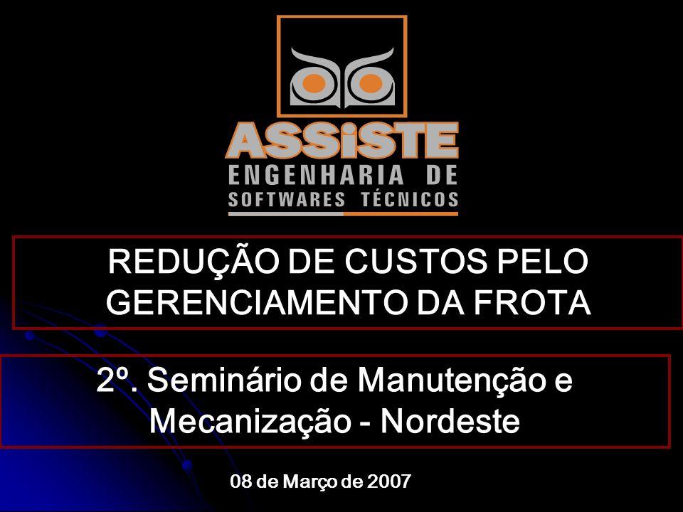 REDUÇÃO DE CUSTOS PELO GERENCIAMENTO DA FROTA