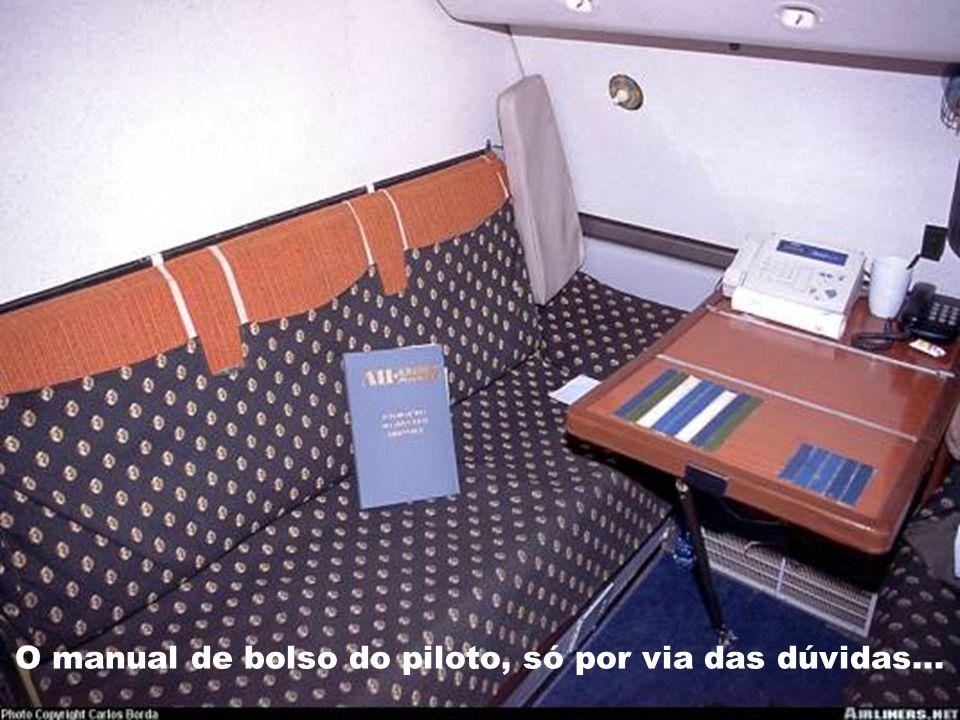 O manual de bolso do piloto, só por via das dúvidas...