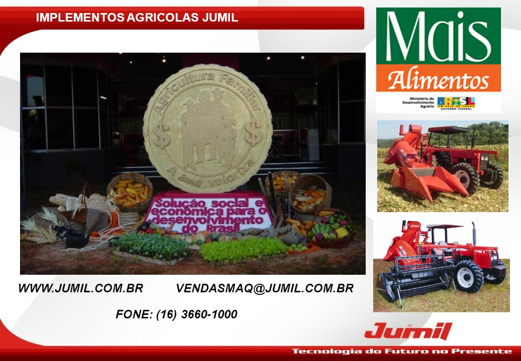 IMPLEMENTOS AGRICOLAS JUMIL