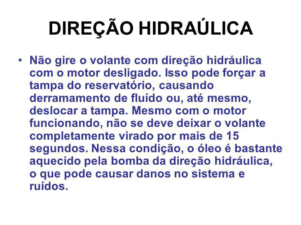 DIREÇÃO HIDRAÚLICA