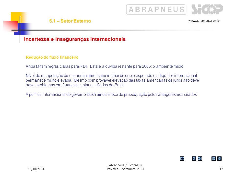 Abrapneus / Sicopneus Palestra – Setembro 2004