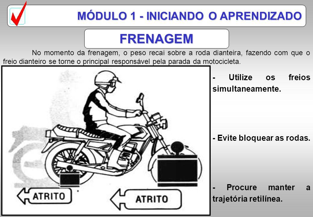 FRENAGEM MÓDULO 1 - INICIANDO O APRENDIZADO
