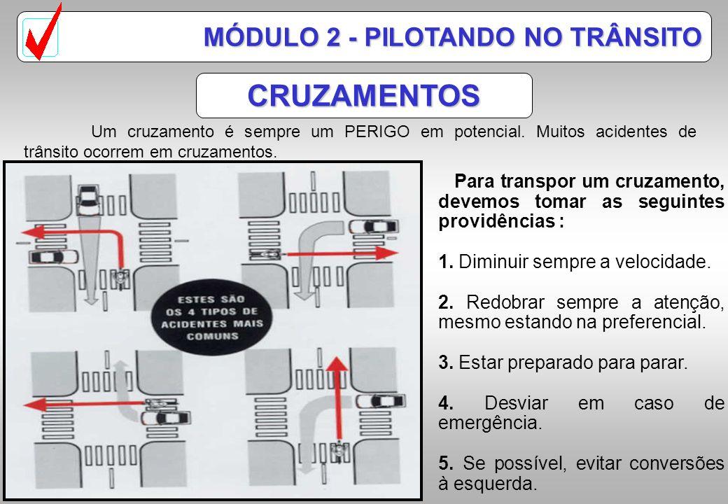 CRUZAMENTOS MÓDULO 2 - PILOTANDO NO TRÂNSITO