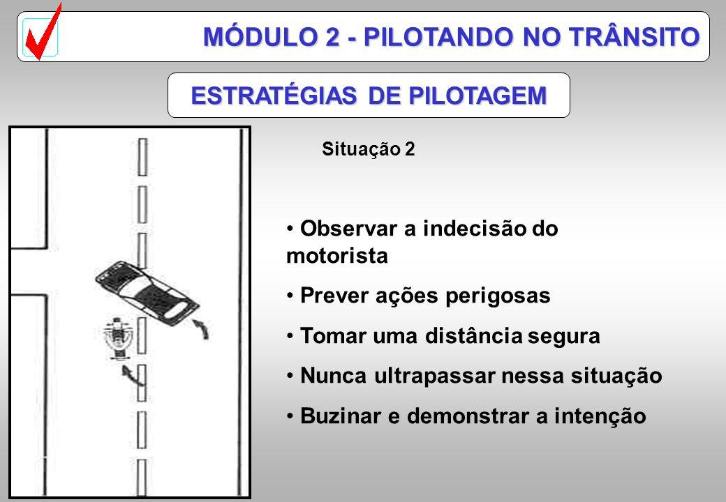 ESTRATÉGIAS DE PILOTAGEM