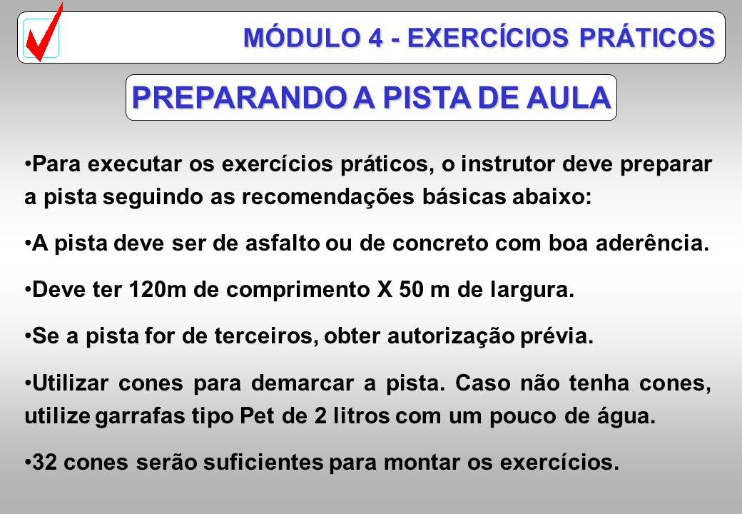 PREPARANDO A PISTA DE AULA
