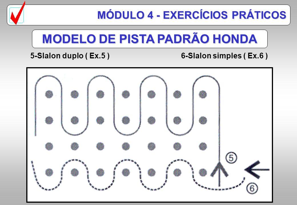 MODELO DE PISTA PADRÃO HONDA